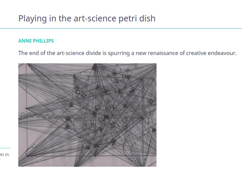 Playing In The Art Science Petri Dish Sid Sledge