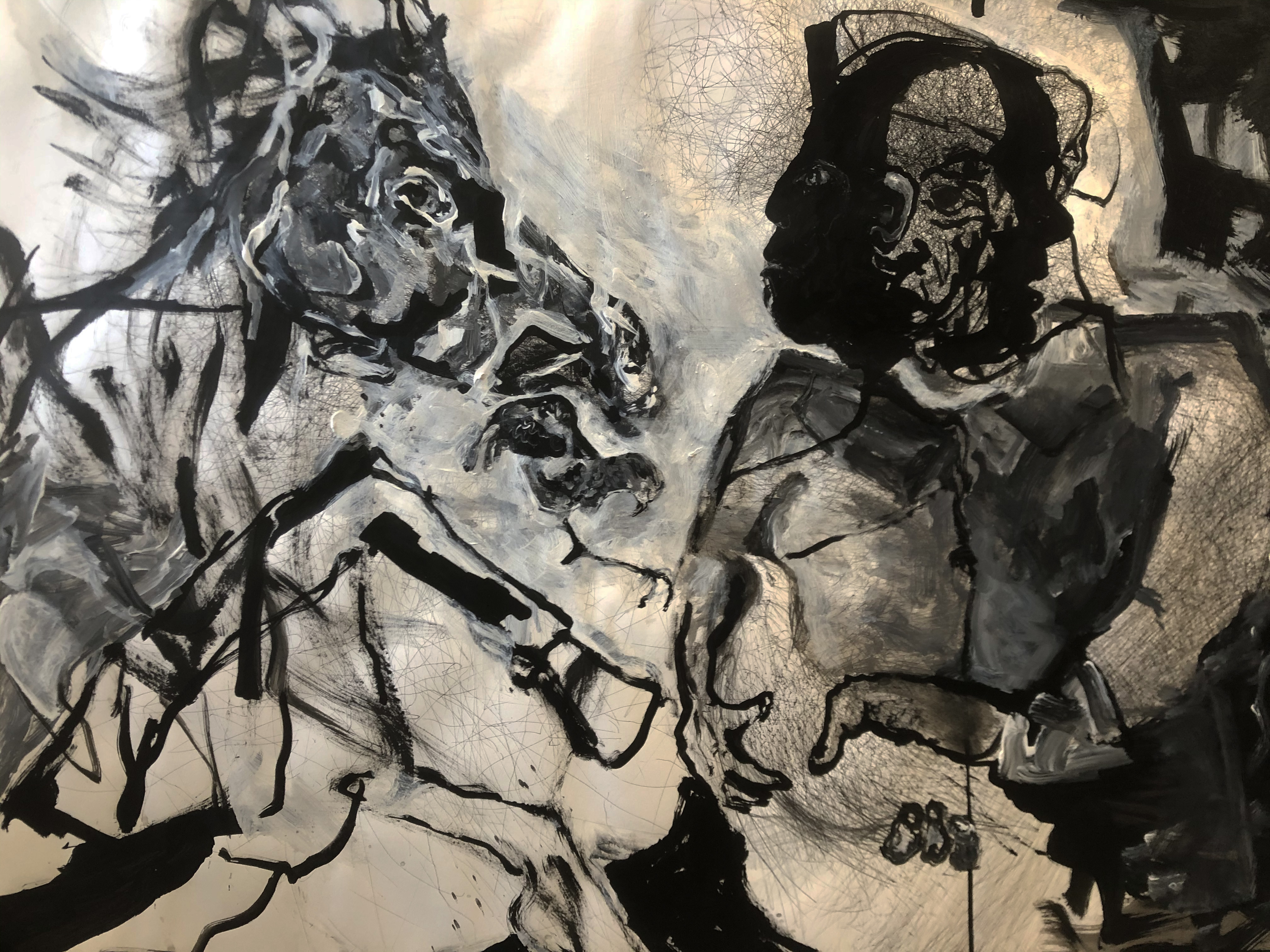 horse and rider II